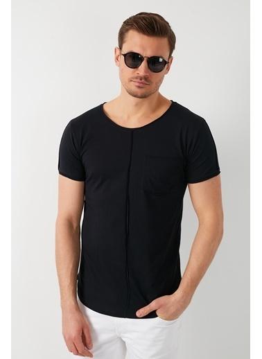 Buratti Buratti Cepli Erkek T-Shirt 5412020 Siyah